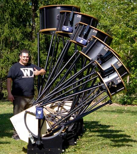 Large Dobsonian Telescopes